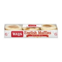 Bays English Muffins Original - 6 ct Refrigerated