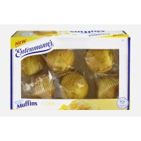 Entenmann's Muffins Corn - 6 ct