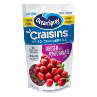 Ocean Spray Craisins Dried Cranberries Pomegranate Juice Infused