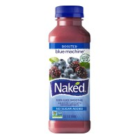 Naked Boosted Blue Machine 100% Juice Smoothie Fresh Non-GMO