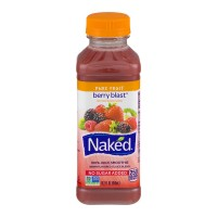 Naked Berry Blast 100% Juice Smoothie No Sugar Added Fresh