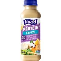 Naked Protein Pineapple Coconut Banana Juice No Sugar Added Non-GMO