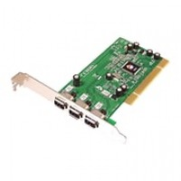 SIIG® NN-400012-S8 3-Port FireWire PCI Adapter