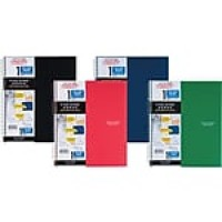 "Five Star® Wirebound Notebook, 1 Subject, College Ruled, 11"" x 8 1/2"", Assorted Colors (06206)"
