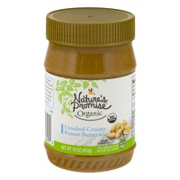 Nature's Promise Organic Peanut Butter Creamy Unsalted