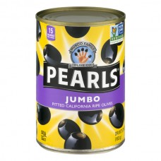 Pearls Ripe Black Olives Jumbo Pitted
