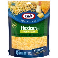 Kraft Mexican Style Four Cheese Shredded