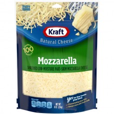 Kraft Mozzarella Cheese Part-Skim Low-Moisture Shredded Natural