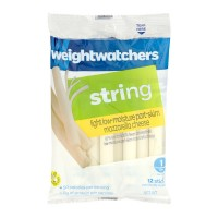 Weight Watchers Mozzarella String Cheese Light - 12 ct