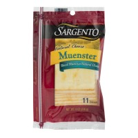 Sargento Muenster Cheese Slices - 11 ct