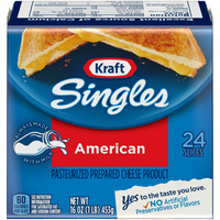 Kraft American Cheese Product Singles - 24 ct