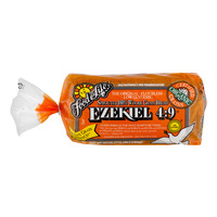 Food For Life Ezekiel 4:9 Bread Sprouted Grain Flourless Organic