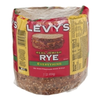 Levy's Bread Jewish Rye Everything