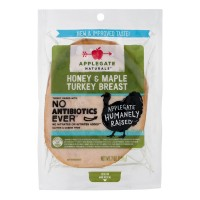 Applegate Naturals Turkey Breast Honey & Maple Sliced