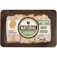 Oscar Mayer Turkey Breast Slow Roasted Sliced Natural