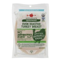 Applegate Organics Turkey Breast Roasted Sliced Non-GMO