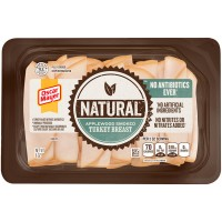 Oscar Mayer Turkey Breast Applewood Smoked Sliced Natural