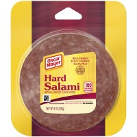 Oscar Mayer Salami Hard Sliced Fully Cooked