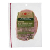 Applegate Naturals Ham Black Forest Uncured Sliced