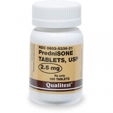 Prednisone 2.5 mg Tablets, 100 Count