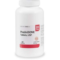 Prednisone 20 mg Tablets, 100 Count