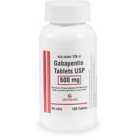 Gabapentin 600 mg Tablets, 60 Count