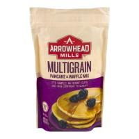 Arrowhead Mills Pancake & Waffle Mix Multigrain Organic