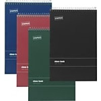 "Staples Steno Pads, 6"" x 9"", Gregg, Assorted Color Covers, 80 Sheets/Pad, 12 Pads/Pack (11214/18584)"