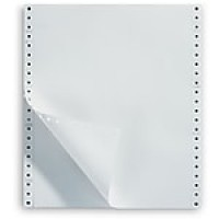 "Staples Computer Paper, Ultra Perforated, 9 1/2"" x 11"", Blank White, 20lb., 2,500/Box"
