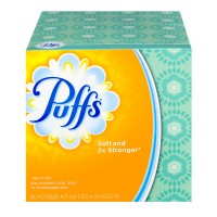 Puffs Facial Tissues 2-Ply White Unscented