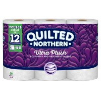 Quilted Northern Ultra Plush Bathroom Tissue Double Roll 3-Ply Unscented