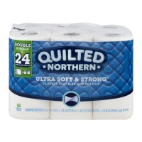 Quilted Northern Ultra Soft & Strong Bathroom Tissue Double Roll 2-Ply