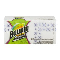 Bounty Quilted Napkins 1-Ply Signature Prints
