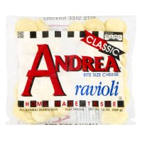 Andrea Ravioli Cheese Bite Size Frozen