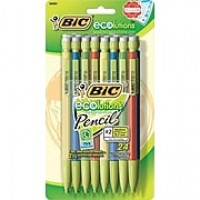 BIC® Ecolutions™ Mechanical Pencil, 0.7mm, 24/Pk (MPEP241)