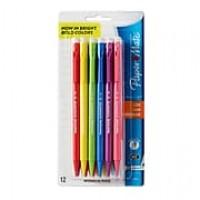 Paper Mate® Sharpwriter Colors Mechanical Pencils, 0.7mm, 12/pk (1898483)