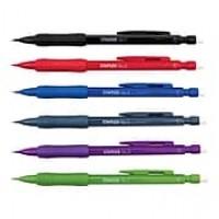 Staples® No. 2 Gripped Mechanical Pencils, Medium 0.7mm, Assorted Colors, 12/pk (29082)
