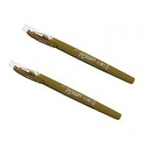 JAM Paper® Gel Pens, 0.7 mm point, Gold, 2/Pack (6544969a)
