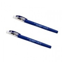 JAM Paper® Gel Pens, 0.7 mm point, Blue, 2/Pack (6534964a)