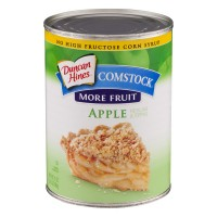 Duncan Hines Comstock More Fruit Pie Filling & Topping Apple
