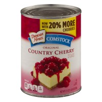 Duncan Hines Comstock Pie Filling & Topping Country Cherry Original