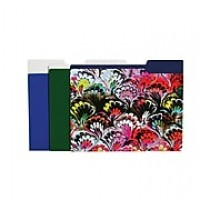 Cynthia Rowley Fashion File Folders, Assorted, 6 pack (50479)