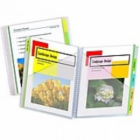 C-Line® 10-Pocket Portfolios with Write-On Tabs, bundle of 6 (CLI33650)