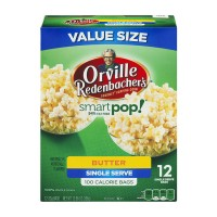 Orville Redenbacher's Smart Pop Microwave Popcorn Single Serve Butter