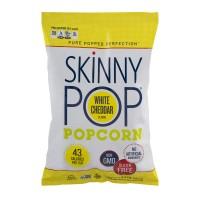 SkinnyPop Popcorn White Cheddar Flavor Gluten Free