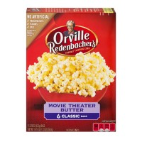 Orville Redenbacher's Microwave Popcorn Classic Bag Movie Theater Butter