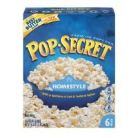 Pop Secret Microwave Popcorn Homestyle