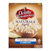 Orville Redenbacher's Naturals Light Popcorn Classic Butter & Sea Salt