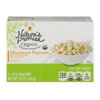 Nature's Promise Organics Microwave Popcorn Butter Flavor