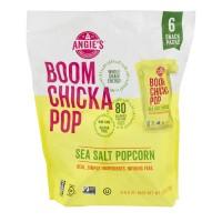 Angie's BOOMCHICKAPOP Popcorn Sea Salt - 6 pk